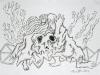 Amrum Drawing 4: Contemplation, 2016