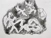 Amrum Drawing 6: Jacob's dream - an agnostic view. 2017
