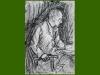 Helmut J., 1953/54, charcoal