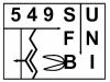 Logo Sonderforschungsbereich (SFB) 549, 1998